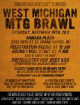 West Michigan M:TG Brawl Poster by nitzua19
