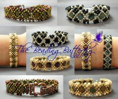 Claddagh Reversible Tila Bracelet by beadg1rl
