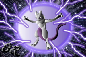 Pokemon Mewtwo by SamuelHavel