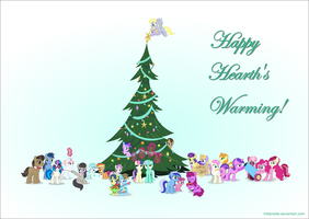 Happy Hearth's Warming! 2014 by TriteBristle