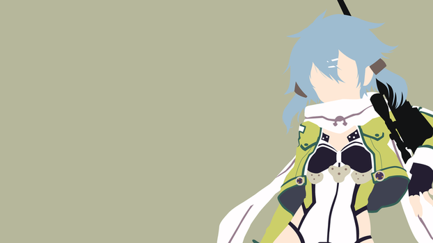 Sinon (GGO version) from SAO 2 | Minimalist by matsumayu