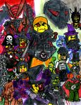 Legion of Lego Villains by SonicClone