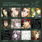 2015 Summary of Art by theLostSindar