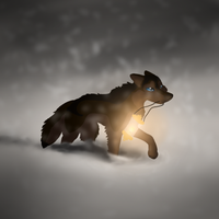 Through The Snow by InkSheWolf
