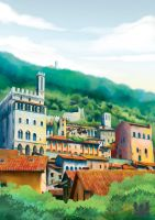 Gubbio Page 1 by charfade