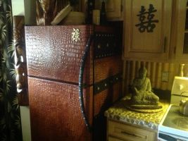 Asian Alligator Skin Fridge by MauruCat
