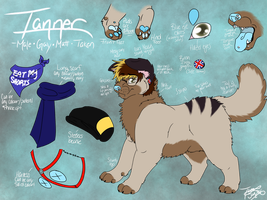tanner- official 2016 ref. by gay-doq-nerd