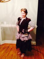 This year's steampunk costume by Adriellovesart