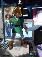 Link - The Legend of Zelda Papercraft by R15ABRAHAM