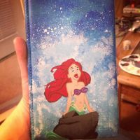 The Little Mermaid - Waitress Order Book by floweringgarlic