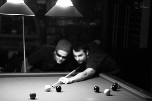 Pool Bros. by StefanoCatalano