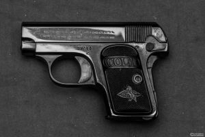 Colt 1908 Vest Pocket Hammerless *Grunge* by spaxspore