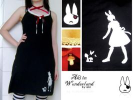 aki in wonderland dress by Akino-K