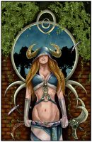 High Priestess by QuestingRaven _COLORS_ by carol-colors