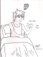 Bedhead in the morning by Bella-Who-1