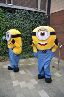 Minions at Stoke-Con-Trent 2015 by masimage