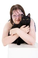 My Cat and Me 2 by allykat