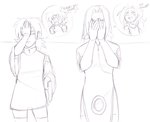 The girls reactions :WIP: by Ootsutsuki