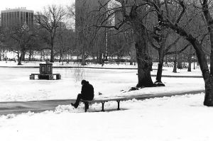 A lonely man by TehLone-Wolf