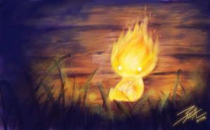 Fire Sprite by IngridTan