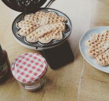 Waffles. by SuirisWhite