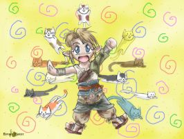 Of Chibis and Kitties by HyruleMaster