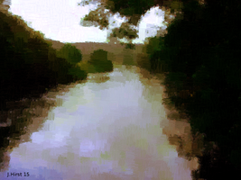 The River Avon at spring by Jessica-Hirst
