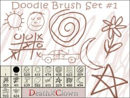 Doodle Brush Set 1 by DoaC-Res