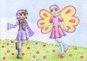 Lavender and Carnation by NormaLeeInsane
