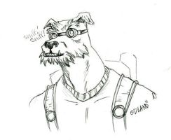 Science Dog by Forty-Nine