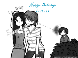 APH: Happy Birthday Phili-chan by streaksketcher