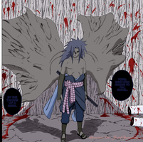 Ch 344 Sasuke Curse Seal 2 by JointOperation