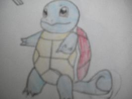 Squirtle Drawing by PhantomX42