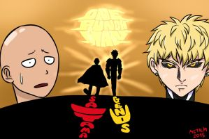 One Punch Man by Metal-M