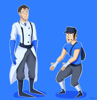 Medic With His Long Feet by Friwil