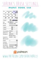 PTS Brush settings: Waterbrush by SaraFabrizi