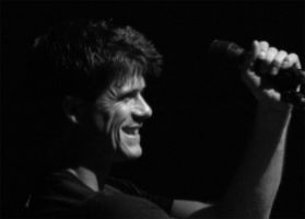 Seth Lakeman Black and White by VisualPurple