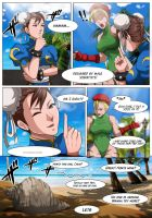 Cammy Chun Li X Doa pg3 by magion02