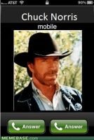 if chuck norris call you... by blakenoble6