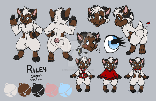 Chibi Deluxe Reference::Riley by LittleBoBleat