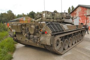 Leopard 1A2 Rear by withinamnesia