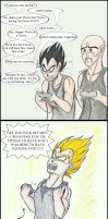 Two Saiyans Play 3 by LarslovesJames