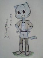 Gumball's OUTFIT- TAWoG by DASimsTOON2012