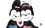 Oswald And Ortensia by JunetheFox9891