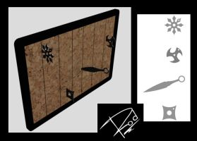 Rods cork board by Roodiee