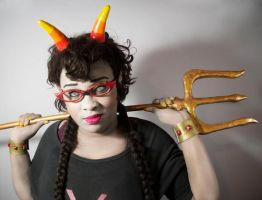 Meenah Peixes (Homestuck) by blackbettie