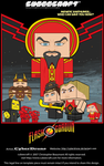 Cubeecraft - Flash Gordon Mini Movie Poster by CyberDrone