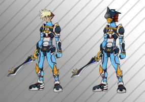 Kite son of Sora: Keyblade Armor request by KajiMateria