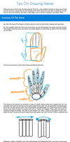 Tips on Drawing Hands Tutorial by SarahCulture