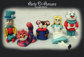 Alice in Wonderland by ArteDiAmore